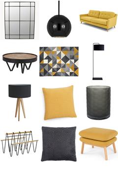Modern Apartment - Mustard Yellow