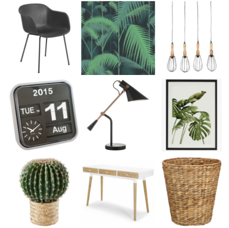 Shop Botanical Office Inspiration Board