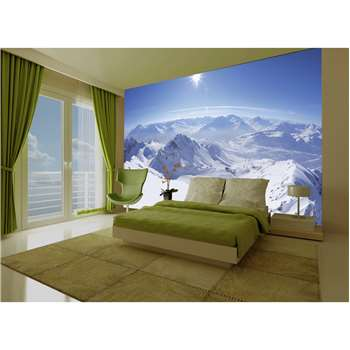 1Wall Mountain View Wall Mural