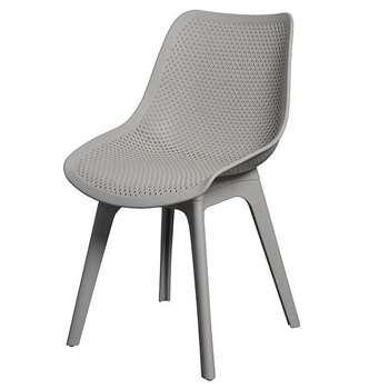 2 x Aurora chairs, Grey (82 x 48cm)