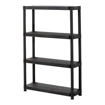4 Tier Shelving Unit 130 x 61cm