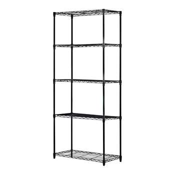 5 Tier Heavy Duty Steel Garage Shelving Storage Unit (H174 x W75 x D35cm)
