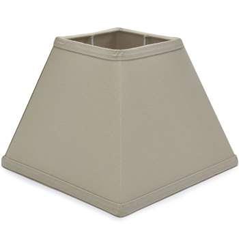 7.5 inch Mocha Square Shade (Width 19cm)