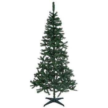 7Ft Evergreen Tree (H213.4 x W106.7 x D106.7cm)