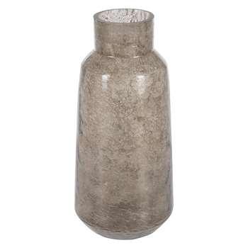 A by Amara - Aged Glass Vase (H40 x W17.5 x D17.5cm)