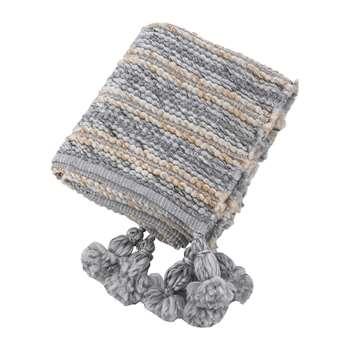 A by Amara - Chunky Knitted Throw - (H130 x W170cm)