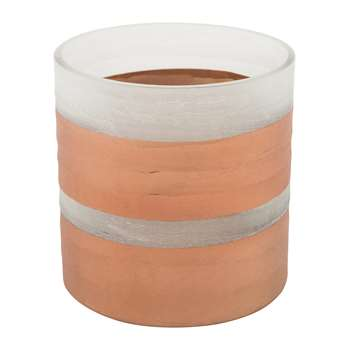 A by Amara - Copper Tealight Holder (H10 x W10 x D10cm)