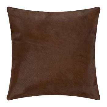 A by Amara - Cowhide Cushion - Natural (H45 x W45cm)