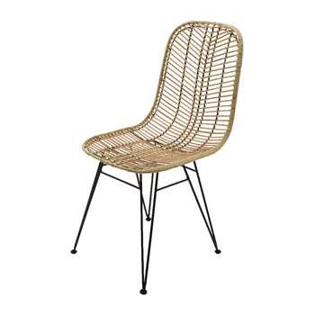 A by Amara - Cyprus Rattan Chair (H90 x W57 x D44cm)