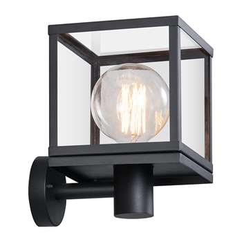 A by Amara - Dalton Outdoor Wall Light (H29.6 x W20 x D20cm)