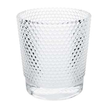A by Amara - Dimple Glass Votive (11.5 x 10.5cm)