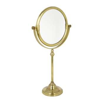 A by Amara - Freestanding Mirror - Antique Gold (H33 x W20.5 x D9cm)