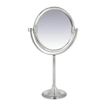 A by Amara - Freestanding Mirror - Silver (H33 x W20.5 x D9cm)