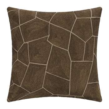 A by Amara - Giraffe Print Cushion (H45 x W45cm)