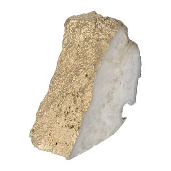 A by Amara - Gold Fossil Object (H12 x W8.5cm)