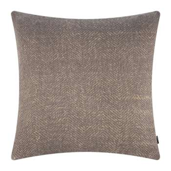 A by Amara - Herringbone Cushion - Natural (H60 x W60cm)