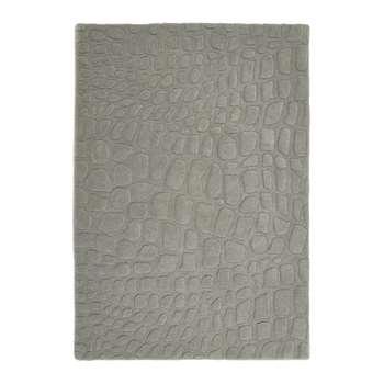 A by Amara - Marble Hand Tufted Wool Rug - Grey (120 x 170cm)