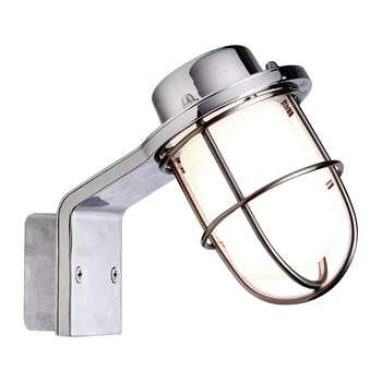 A by Amara - Marina Wall Lamp - Chrome (H14 x D15cm)