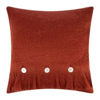 A by Amara - Mohair Feel Cushion - Cinnamon (H45 x W45cm)