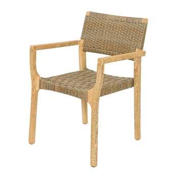 A by AMARA - Outdoor Rattan Armchair (H83 x W59 x D57cm)
