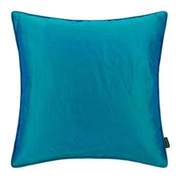 A by Amara - Pure Silk Cushion - Peacock (45 x 45cm)