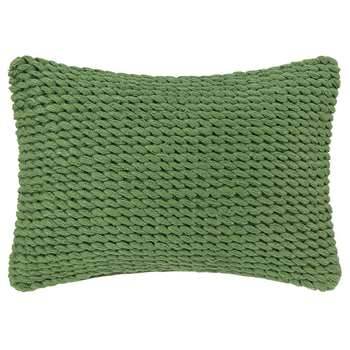A by Amara - Rope Cushion - Green (H30 x W50cm)