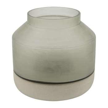 A by Amara - Sandstone Vase - Large (H18 x W19 x D19cm)