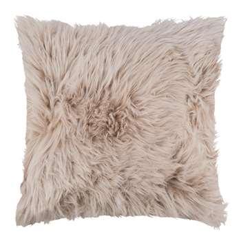A by Amara - Sheepskin Cushion - Blush (45 x 45cm)
