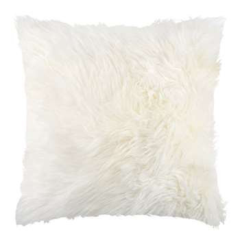 A by Amara - Sheepskin Cushion - Ivory (H45 x W45cm)