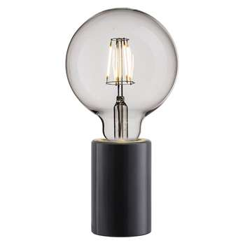 A by Amara - Siv E27 Table Lamp - Small - Black (10.3 x 6cm)