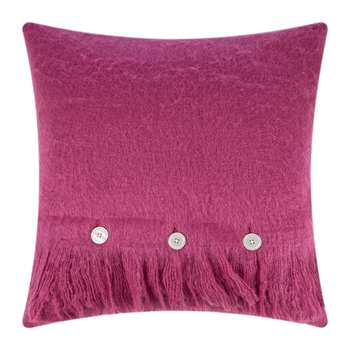 A by Amara - Soft Cushion - Fuchsia (H45 x W45cm)