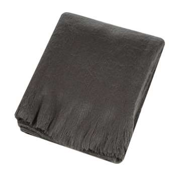A by Amara - Soft Throw - Charcoal (H130 x W170cm)