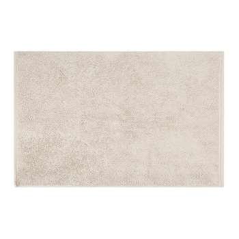 A by Amara - Super Soft Cotton 1650gsm Bath Mat - Linen (50 x 80cm)