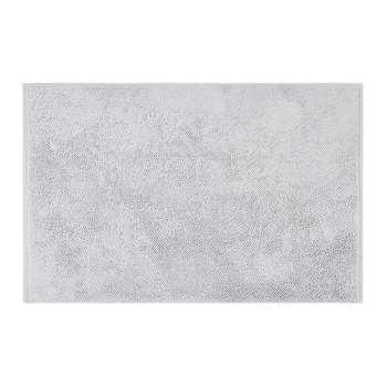 A by Amara - Super Soft Cotton 1650gsm Bath Mat - Silver (50 x 80cm)