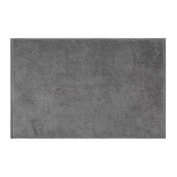 A by Amara - Super Soft Cotton 1650gsm Bath Mat - Slate (50 x 80cm)