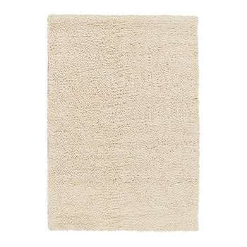 A by Amara - Union Hand Woven Wool Rug - Ivory (120 x 170cm)