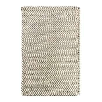 A by Amara - Urbane Hand Woven Wool Rug - Ivory (120 x 170cm)