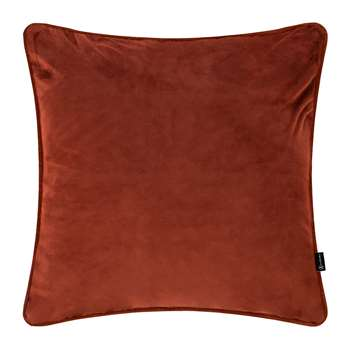 A by Amara - Velvet Cushion - Burnt Sienna (H45 x W45cm)