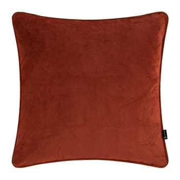 A by Amara - Velvet Cushion - Burnt Sienna (H60 x W60cm)