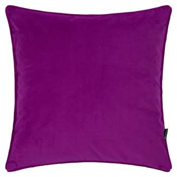 A by Amara - Velvet Cushion - Grape (45 x 45cm)