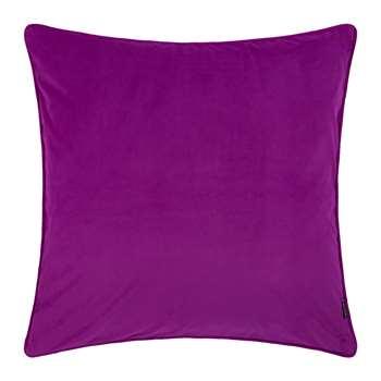 A by Amara - Velvet Cushion - Grape (60 x 60cm)