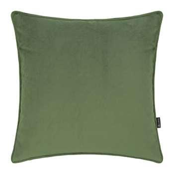 A by Amara - Velvet Cushion - Moss (45 x 45cm)