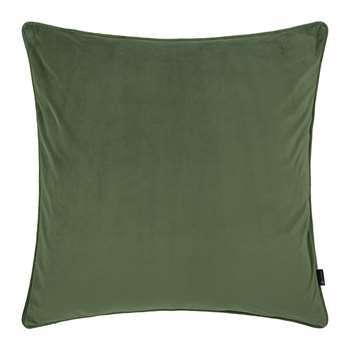 A by Amara - Velvet Cushion - Moss (60 x 60cm)