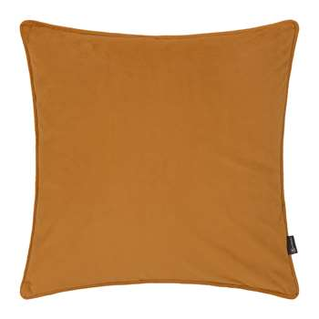 A by Amara - Velvet Cushion - Mustard (45 x 45cm)