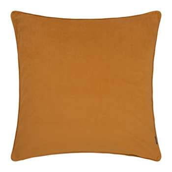 A by Amara - Velvet Cushion - Mustard (60 x 60cm)