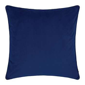 A by Amara - Velvet Cushion - Navy (60 x 60cm)