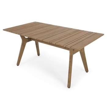 Aaron Outdoor Dining Table, Acacia (75 x 172cm)