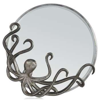Abigail Ahern/EDITION - Silver Octopus Mirror (Diameter 46cm)