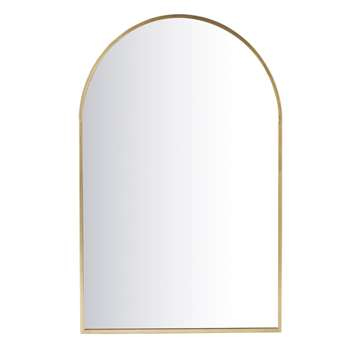 ABY - Golden Metal Mirror (H120 x W77 x D2cm)