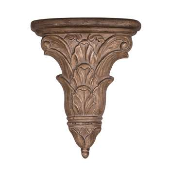 Acanthus wall-mounted Carving (49 x 39cm)